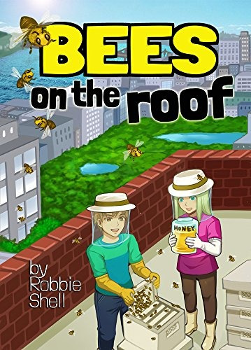libro bees on the roof - nuevo
