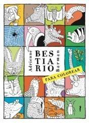 Libro Bestiario Para Colorear Adrienne Barman Nuevo Cortesia