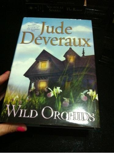 libro bestseller! wild orchids. carátula dura. en inglés!