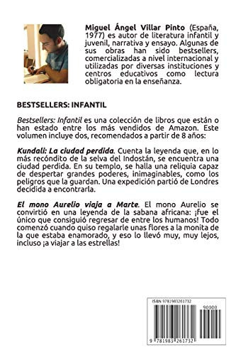 libro : bestsellers infantil  - villar pinto, miguel  (1732)