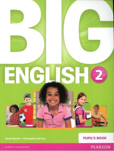 libro: big english 2 / pupils book + activity book / pearson