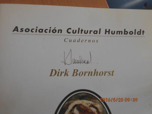libro biografía del arquitecto dirk bornhorst. autografiado