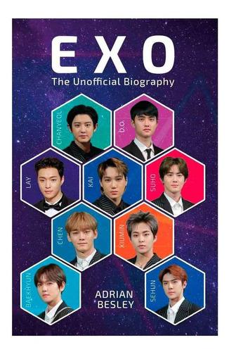 libro biográfico de la banda exo superstars del k-pop