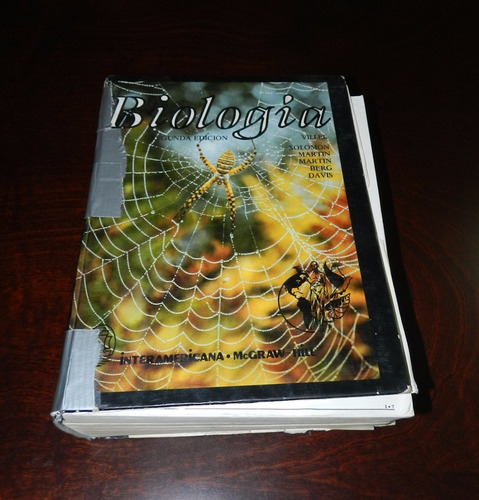 libro biologia villee solomon segunda edicion
