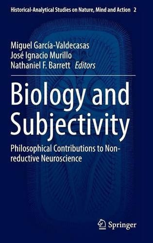libro biology and subjectivity: philosophical contribution