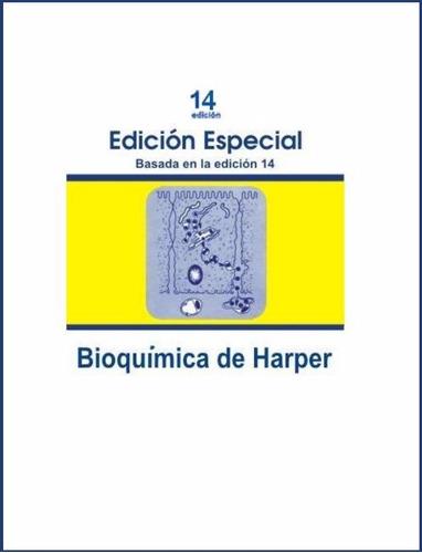 libro: bioquímica de harper - pdf