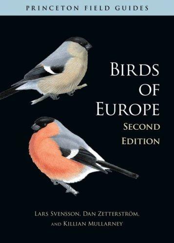 libro birds of europe - nuevo