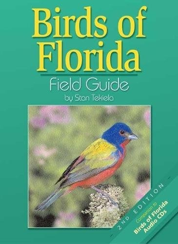 libro birds of florida: field guide - nuevo