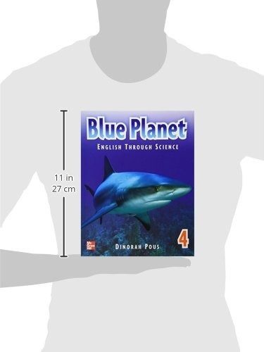 libro blue planet 4 student book con cd - nuevo