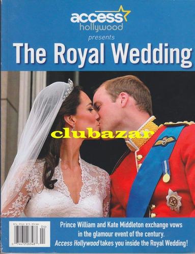 libro boda real principe william lady di kate 2011 usa