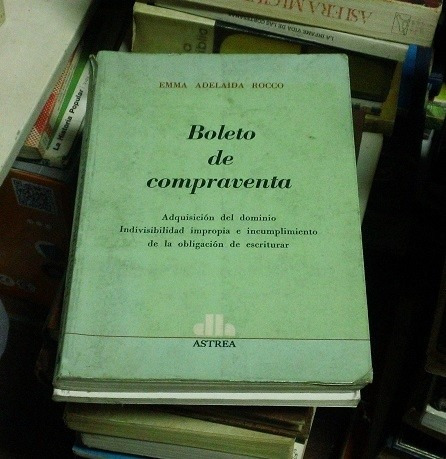 libro boleto de compraventa emma adelaida rocco