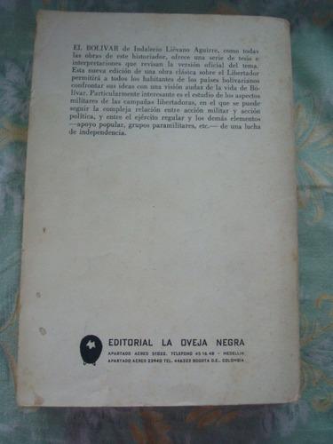 libro bolivar, indalecio lievano aguirre