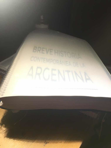 libro breve historia contemporanea de la argentina uba xx