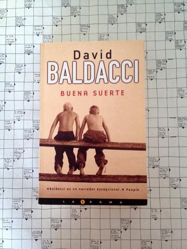 libro: buena suerte de david baldacci. n3