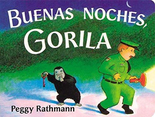 libro : buenas noches, gorila  - rathmann, peggy