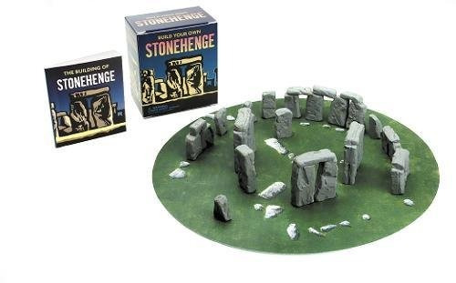 libro build your own stonehenge: mega mini kit - nuevo