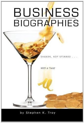 libro business biographies: shaken, not stirred ... with a
