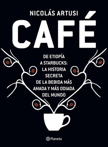 libro café - nicolás artusi - editorial planeta - papel