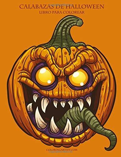 Libro Calabazas De Halloween Libro Para Colorear 1 Volume