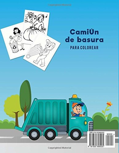 Libro Camiun De Basura Para Colorear Coloring Pages