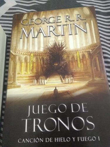 libro canción de hielo y fuego i - juego de tronos