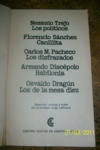 libro: canillita y otras obras.