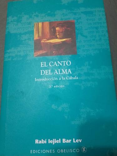 libro canto del alma - lejiel bar lev