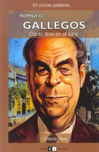 libro, canto libre en el llano de romulo gallegos.