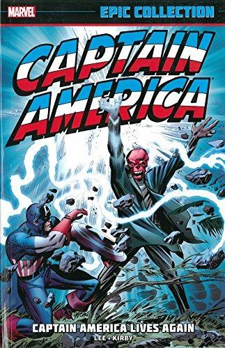 libro captain america epic collection 12014: captain america