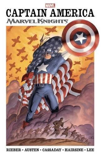 libro captain america marvel knights 1 - nuevo