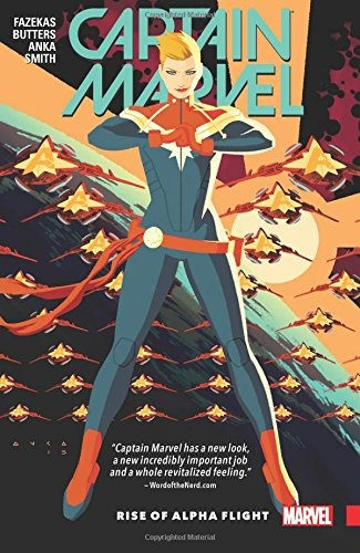 libro captain marvel 1: rise of alpha flight - nuevo