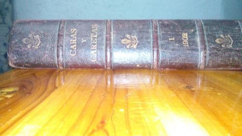 libro caras y caretas 1902