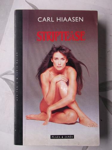 libro-carl hiaasen, striptease-de la película con demi moore