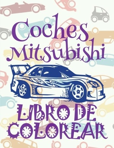 Libro : ¿ Cars Mitsubishi ~ Car Coloring Book For Boys ... - $ 679 ...