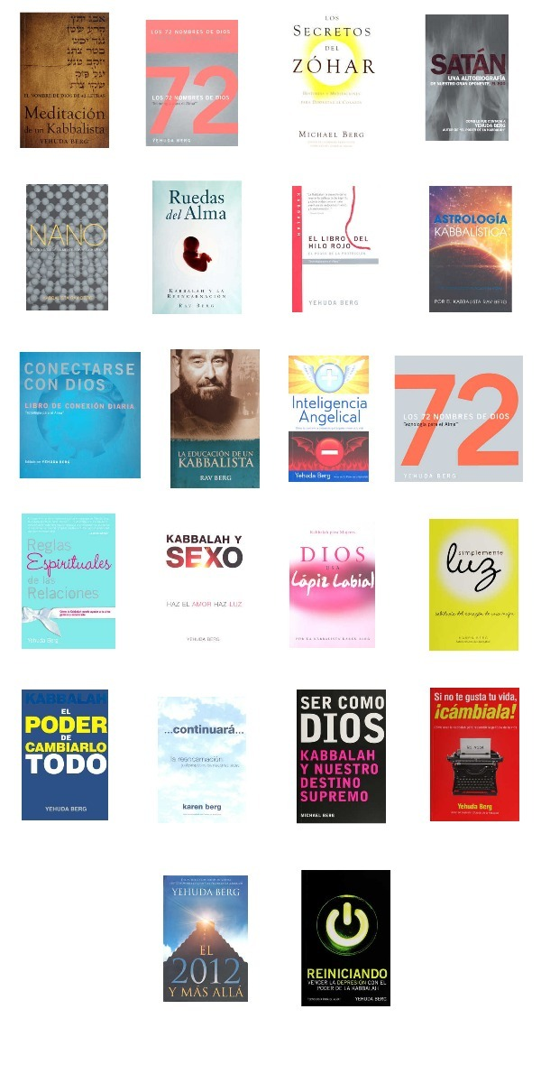 Libro + Cartas De Los 72 Nombres De Dios | Cabala Kabbalah