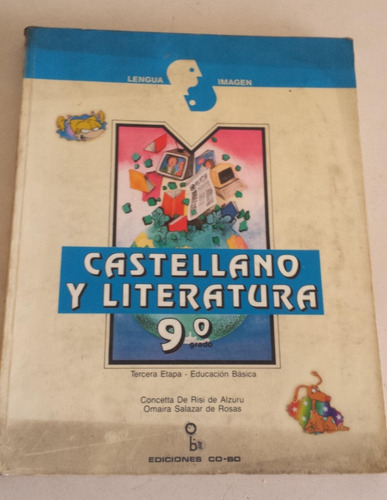libro castellano y literatura 9no grado