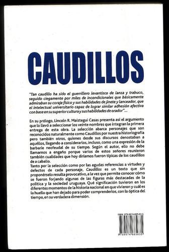 libro - caudillos - lincoln r . maiztegui casas