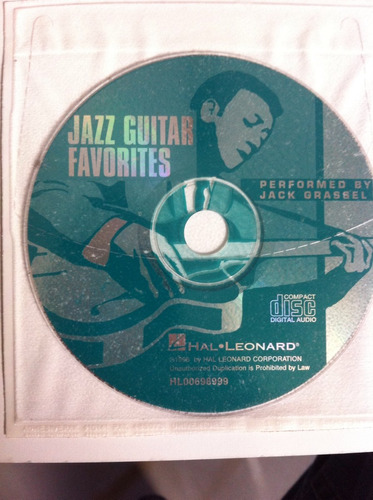 libro + cd, jazz guitar favorites