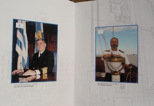 libro centenario escuela naval a traves de barlovento raro !