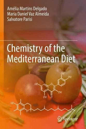libro chemistry of the mediterranean diet - nuevo