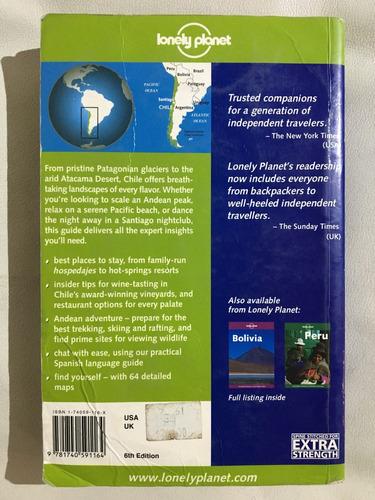 libro chile e isla de pascua guía lonely planet - en inglés