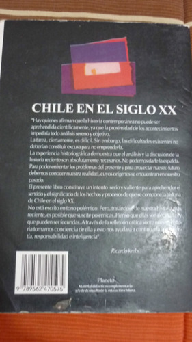 libro .chile en el siglo xx