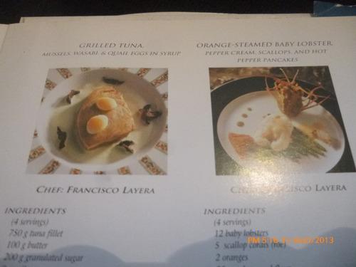 libro chile la mesa del mar / the seafood table (489w