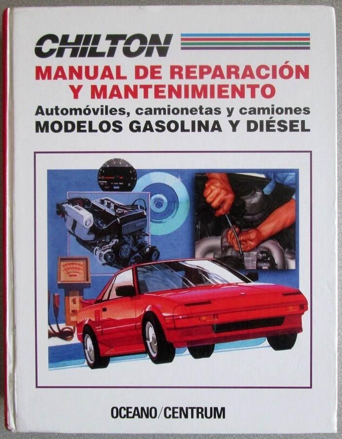 libro chilton manual de reparaci n y mantenimiento oceano rh articulo mercadolibre com co descargar manual de chilton gratis manual de mecanica automotriz chilton gratis pdf
