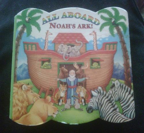 libro chiquito el arca de noe all aboard noah's ark