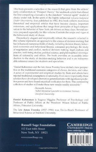 Libro Choices, Values And Frames - Nuevo - $ 2,700.00 en Mercado Libre