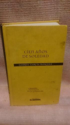 libro cien años de soledad de gabriel garcía marquez