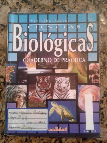 libro ciencias biológicas i práctica editorial actualidad