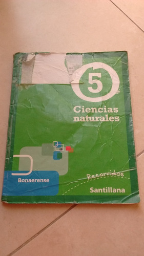 libro ciencias naturales 5 bonaerense editorial santillana