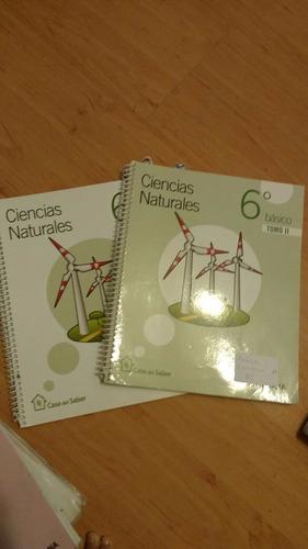 libro ciencias naturales 6 básico, santillana casa del saber